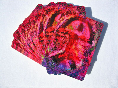 Lucky playing cards ~ Indalo, silk