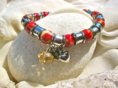Love bracelet ~ flame