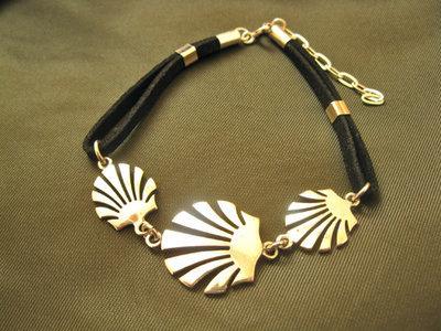 Way of St James Compostela bracelet ~ silver
