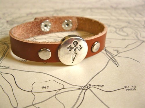 St James bracelet for Spanish Camino de Santiago