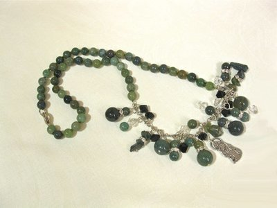 Indian Agate necklace ~ CUIDAME