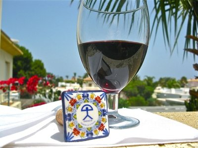 Ceramic wine stoppers ~ Indalo, square