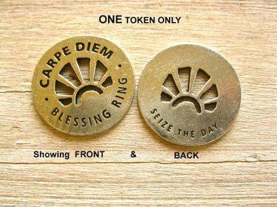 Carpe Diem ~ inspirational token
