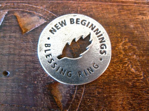 Blessing ring for New Beginnings