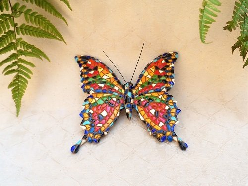 Spanish ceramic Butterfly figurine ~ Bella
