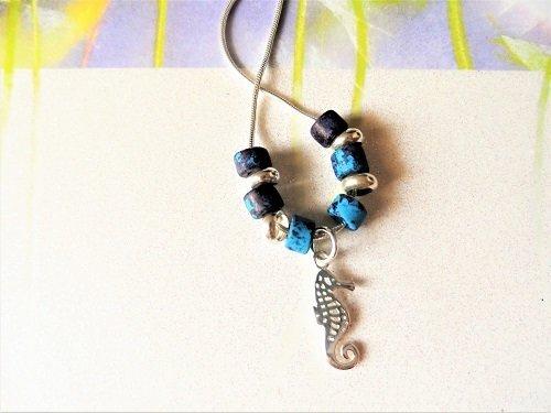 Lucky seahorse necklace