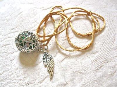 Angel  harmony ball pendant ~ llamador de ángeles