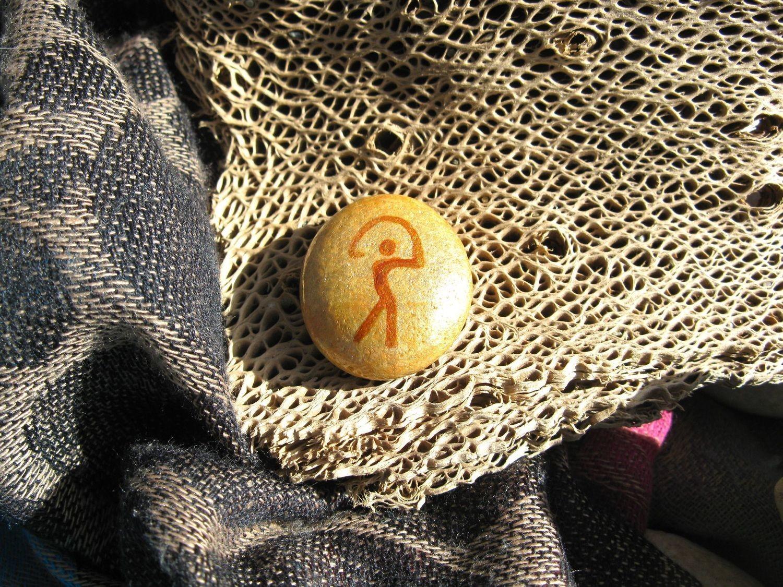 GUARDIAN: lucky Indalo charmstone