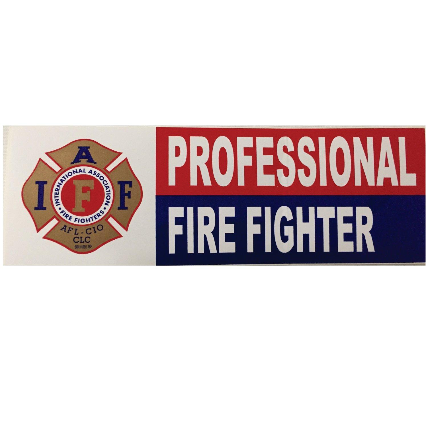 Professional FF Bumper Sticker