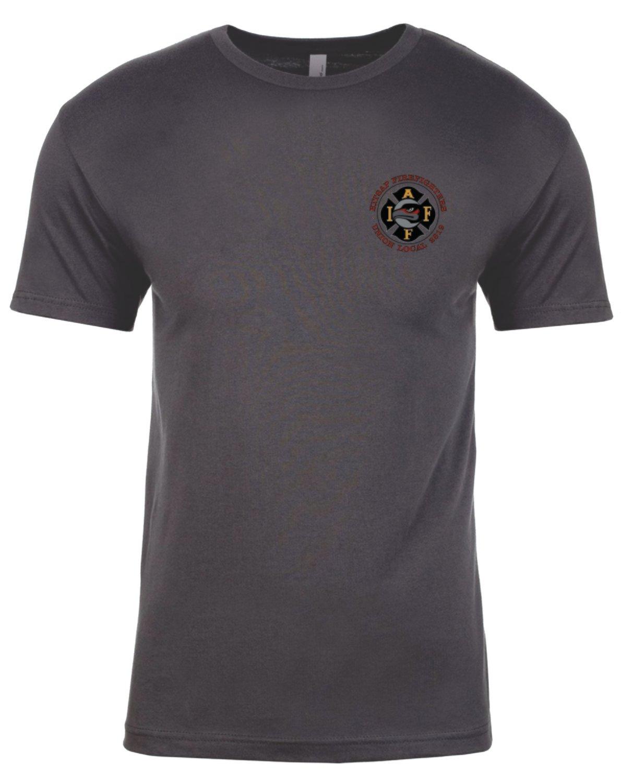 Local 2819 Union T-Shirt, Dark Gray