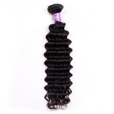 1 PC Deep Wave Human Virgin Hair Bundle