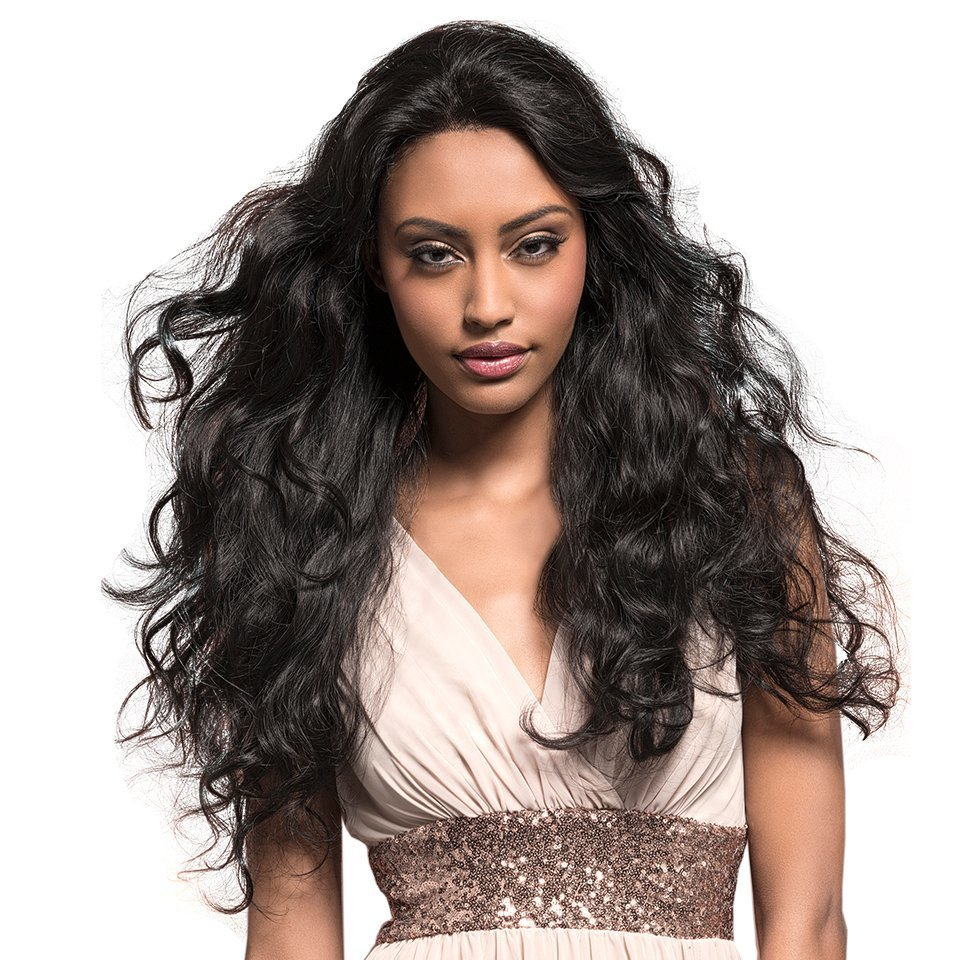 Full Lace Frontal 13*6 Wig Body Wave Human Hair 180% Density With Baby Hair