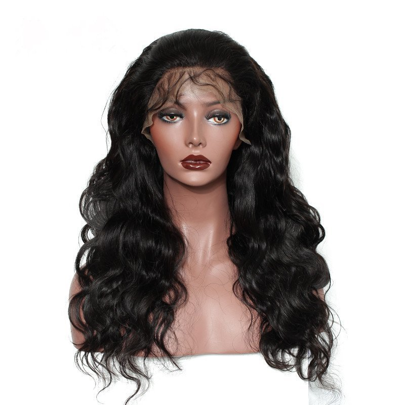 Body Wave Full Lace Frontal 13*6 Wig Human Hair With Baby Hair 180% density Can Be Dyed