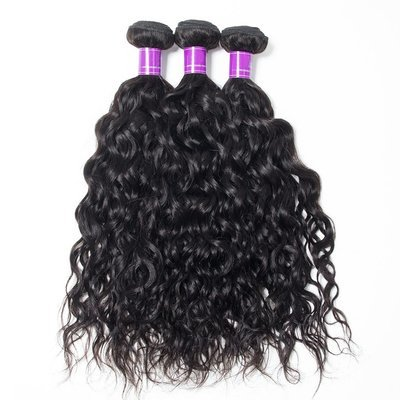 3PCS Mink Natural Wave Human Virgin Hair Bundles