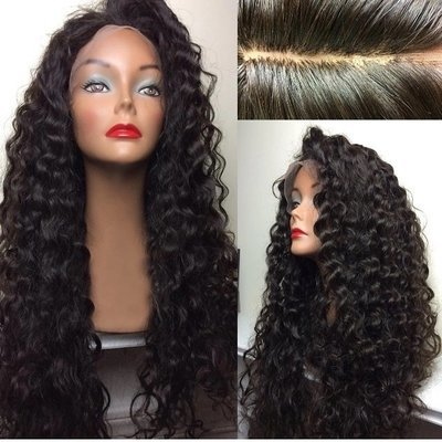 Loose Deep Wave Full Lace Frontal 13*6 Wig Human Hair With Baby Hair Can be dyed