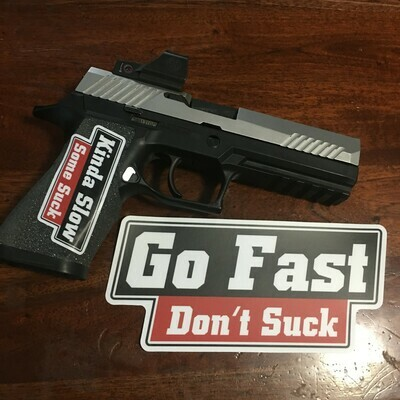 GFDS 7 Inch Vinyl Bumper Sticker