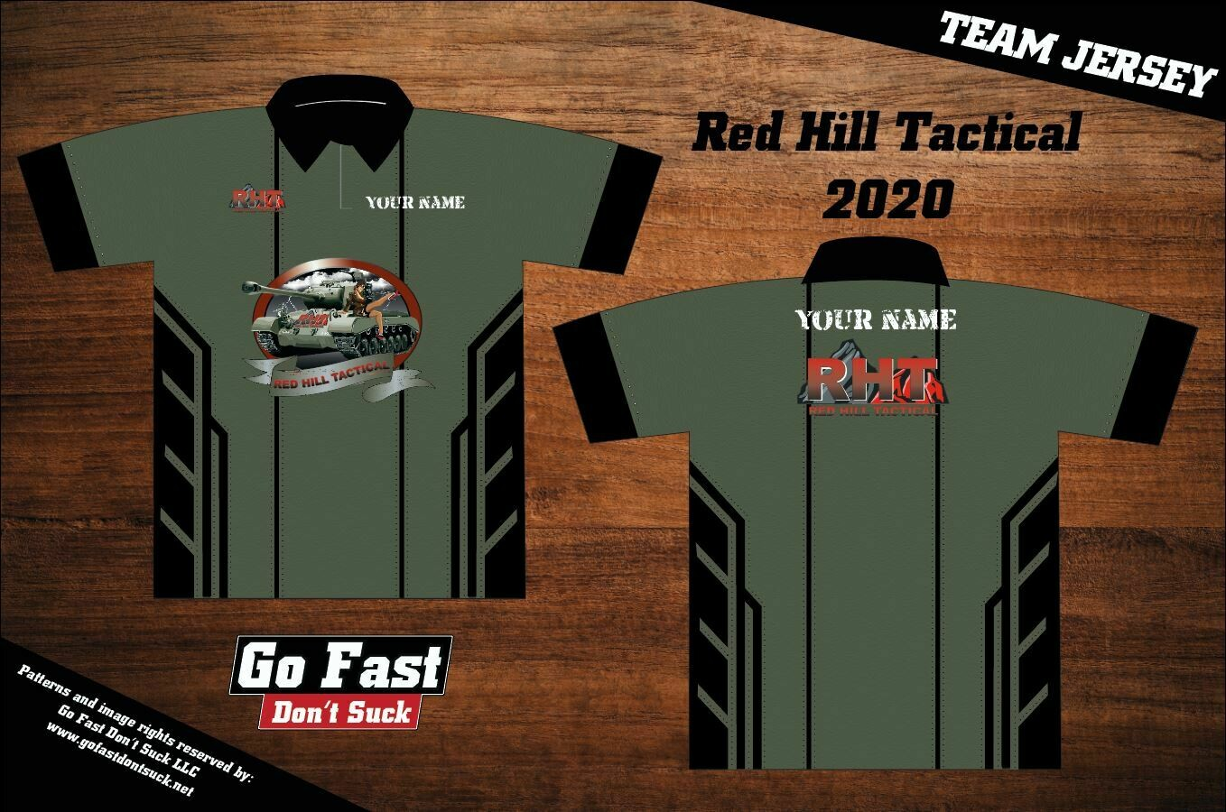 Red Hill Tactical 2020 Team - Polo Jersey