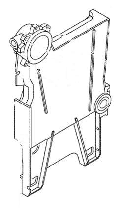 Buderus članak desni GE/GB434
