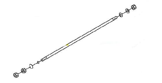 Buderus šipka D-G M12x565mm