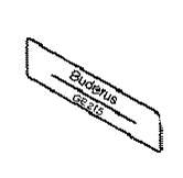 Buderus oznaka kotla G215U