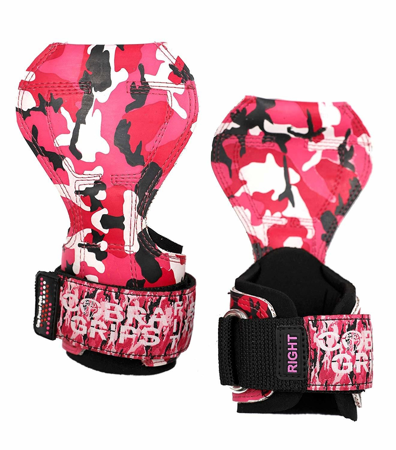 Cobra Grips FIT PINK CAMO Rubber