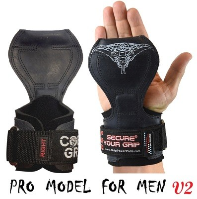 Cobra Grips PRO Limited Edition  Gym Body Building Hooks Gloves Sports Weight Lifting Grips