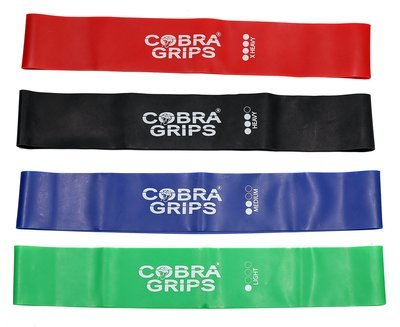 Resistance Loop Bands Exercise Workout Bands - Best for Stretching Physical Therapy and Home Fitness