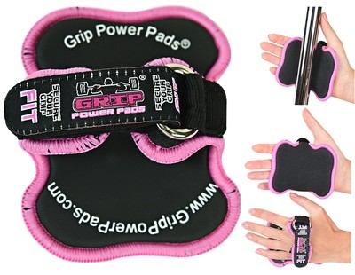 Grip Power Pads FIT Lifting Grips Pad Gym Gloves Alternative Weightlifting Grips Women