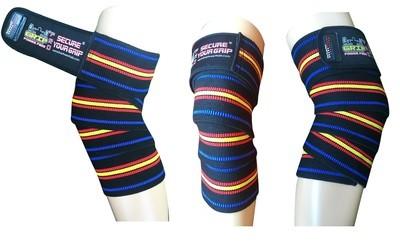 Knee Wraps Compression & Elastic Straps Support For Men & Women 72