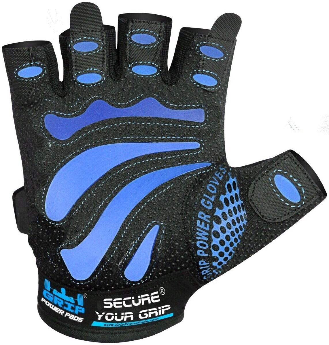 Gym Gloves Protect Your Hands & Improve Your Grip Weightlifting Grips
