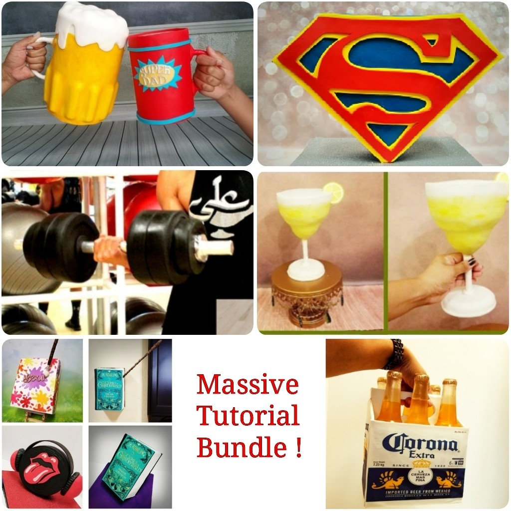 MASSIVE Tutorial BUNDLE of 6 AMAZING Gravity Defying Cakes