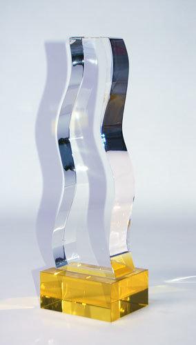 Gold Crystal Trophy CRYSTALGOLD