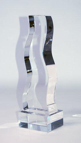 Silver Crystal Trophy CRYSTALSILVER