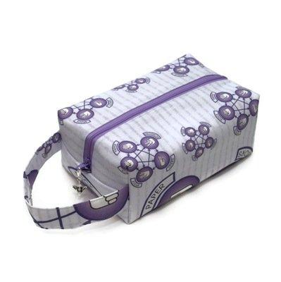 BBT - Rock Paper Scissors Lizard Spock in Purple - Regular Box Bag