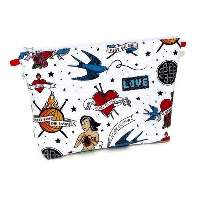 Knit Ink - Large Wedge Bag