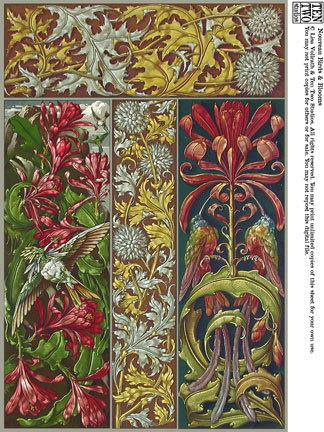 Nouveau Birds & Blooms