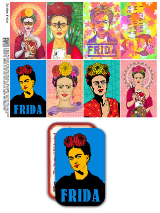 Tin-Sized Fridas