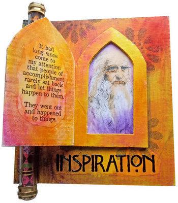 da Vinci Inspiration Book