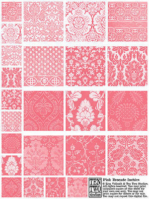 Pink Brocade Inchies