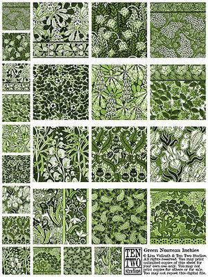 Green Nouveau Inchies