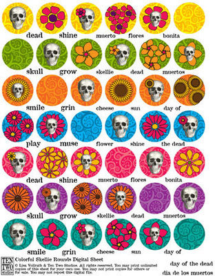 Colorful Skellie Rounds