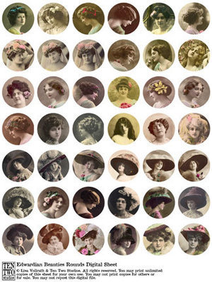 Edwardian Beauties Rounds
