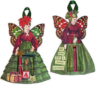 Christmas Fairies Shrines
