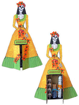 Laughing Catrinas Shrines