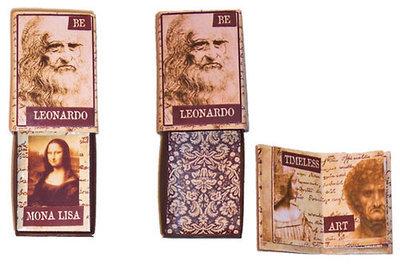 Leonardo's Matchbox Book