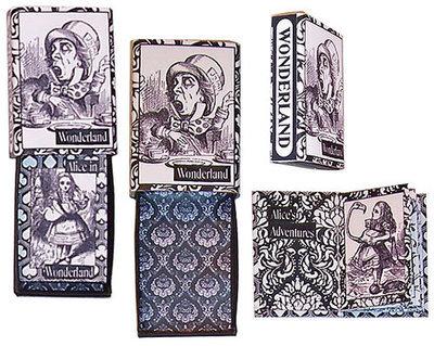 Wonderland Matchbox Book