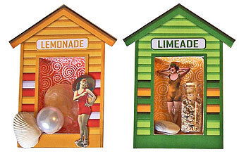 Rosie's Beach Hut Shrines