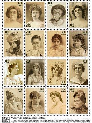 Vaudeville Women