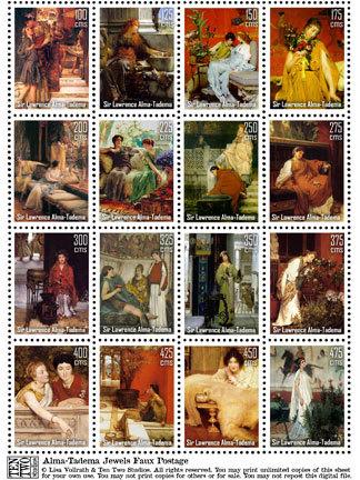 Alma-Tadema Jewels