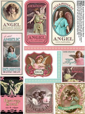Angelic Delights Labels